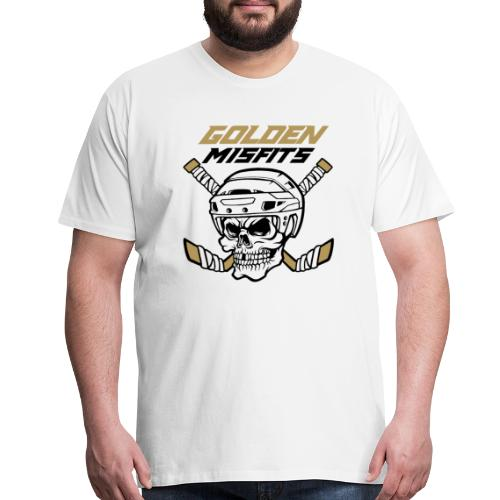 Golden Misfist White - Men's Premium T-Shirt