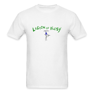 T-Shirts ~ Men's T-Shirt ~ Legion of Nilesy (White)
