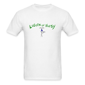 Legion of Nilesy (White) - Men's T-Shirt
