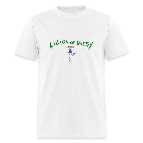 Legion of Nilesy (White) - Men's T-Shirt