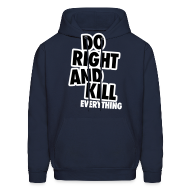 Hoodies ~ Men's Hoodie ~ Do Right...
