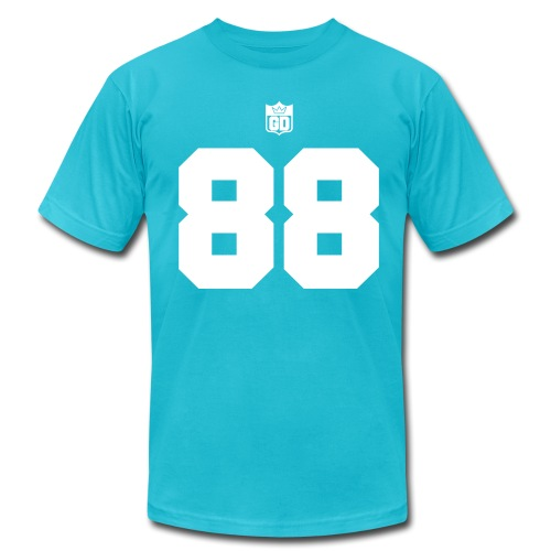 GD Jersey- Double Sided - Men's T-Shirt by American Apparel