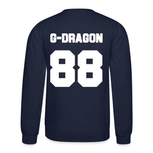 GD Jersey- Double Sided - Crewneck Sweatshirt