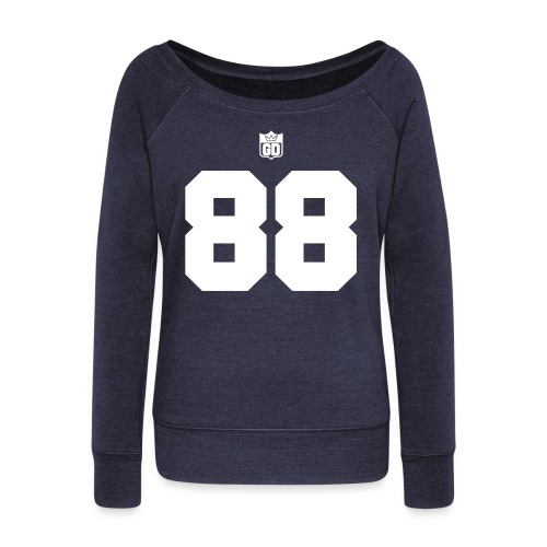 GD Jersey- Double Sided - Women's Wideneck Sweatshirt