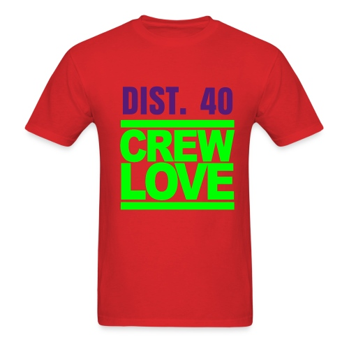 HAWAII -D40 (PLEASE CHOOSE RED FOR YOUR T-SHIRT COLOR) - Men's T-Shirt