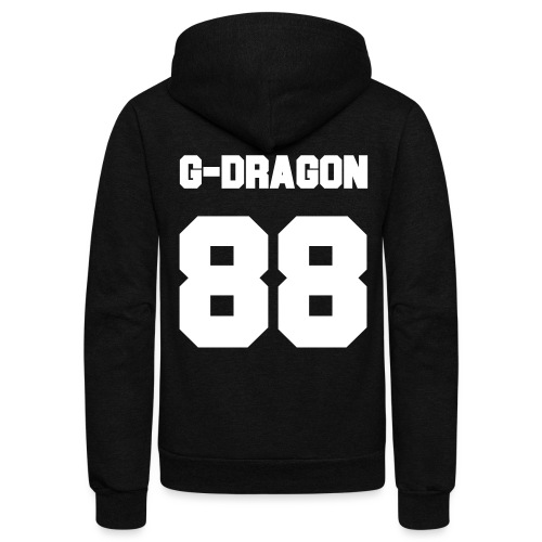 GD Jersey- Single Sided - Unisex Fleece Zip Hoodie by American Apparel