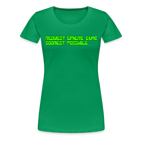 Soonest Possible (Female) - Women's Premium T-Shirt