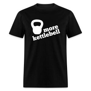 More Kettlebell - Black - Men's T-Shirt