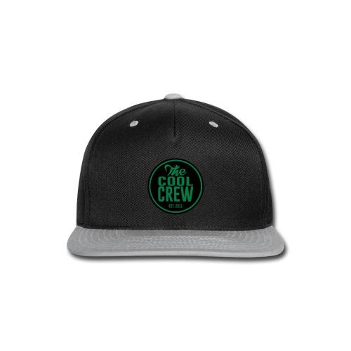 Circle of Cool Black & Green logo Snapback Baseball Cap - Snap-back Baseball Cap