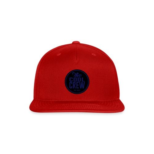 Circle of Cool Black & Navy logo Snapback Baseball Cap - Snap-back Baseball Cap