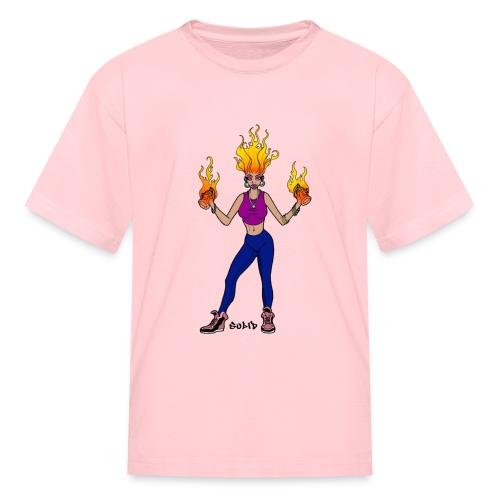 SolidFireSpray - Kids' T-Shirt