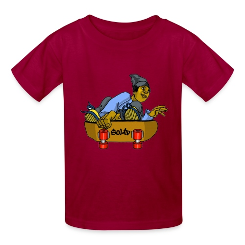 SolidSkate - Kids' T-Shirt