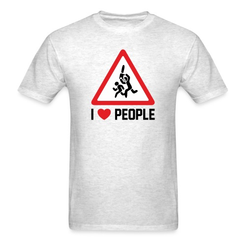 I Love People - Men's T-Shirt