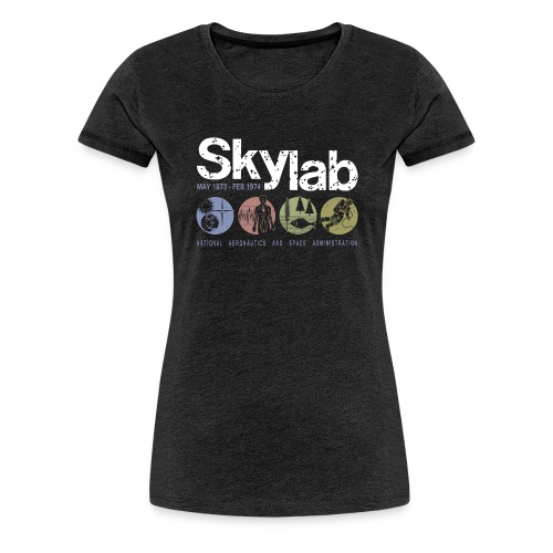 Skylab multicolor women's T-shirt - Women's Premium T-Shirt