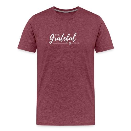 I am Grateful - Men's T - Men's Premium T-Shirt