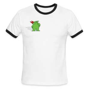 Just For Laughs Men's Ringer T Pensive Victor  - Men's Ringer T-Shirt