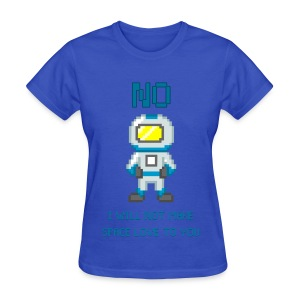 Space Love for Ladies - Women's T-Shirt