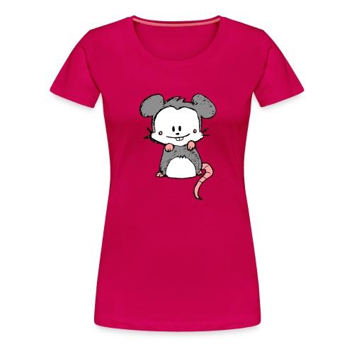 Mouse - Women's Premium T-Shirt