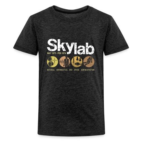 Skylab earth-tone kid's premium T-shirt - Kids' Premium T-Shirt