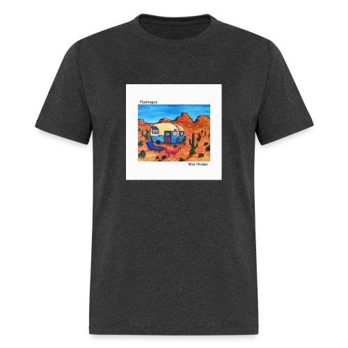 Flamingos Mens T - Men's T-Shirt