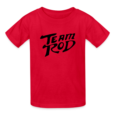 Team Rod Design From Hot Rod the Movie Kids' Shirts
