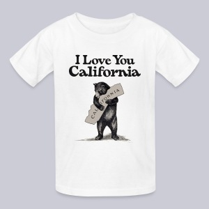 I Love You CA - Kids' T-Shirt