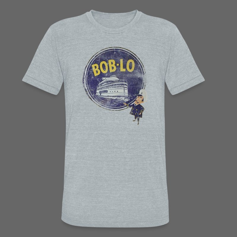 Old Boblo - Unisex Tri-Blend T-Shirt by American Apparel