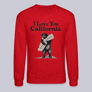 I Love You CA - Crewneck Sweatshirt