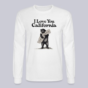 I Love You CA - Men's Long Sleeve T-Shirt