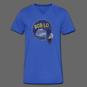 Old Boblo - Men's V-Neck T-Shirt by Canvas