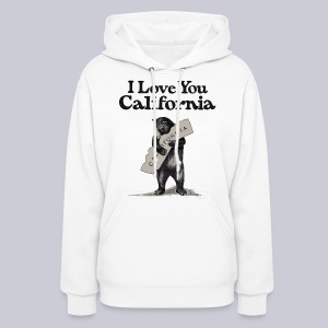 I Love You CA - Women's Hoodie