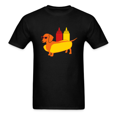 Weenie Dog Tee for Men