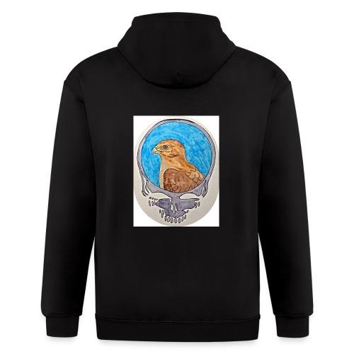 Steal your Hawk hoodie - Men's Zip Hoodie