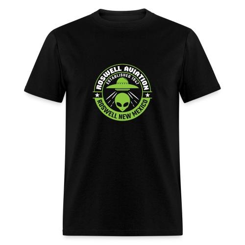 Roswell Aviation Established 1947 Alien - Men's T-Shirt