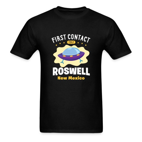 First Contact Roswell New Mexico - Men's T-Shirt