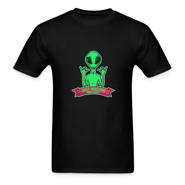 Alien visiting your plane