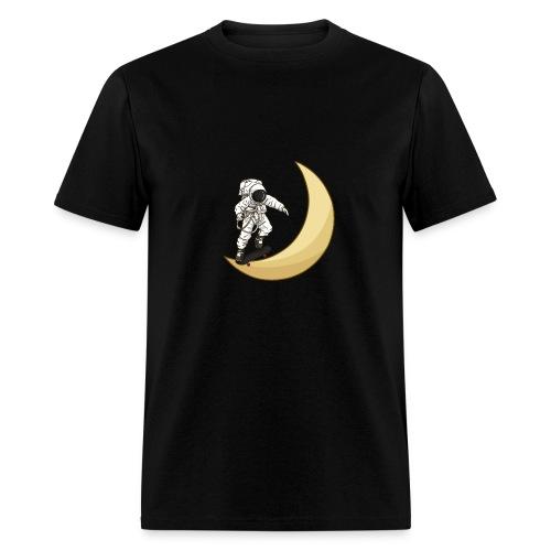 Skateboarding on the moon - Men's T-Shirt
