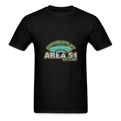 Groom Lake Nevada Area51 Alien UFO Incident - Men's T-Shirt