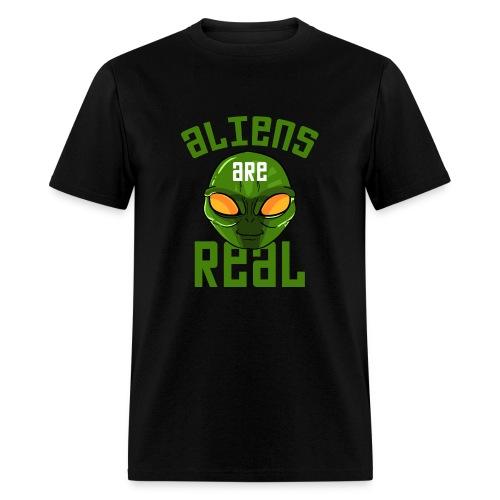 Alien are Real - Men's T-Shirt