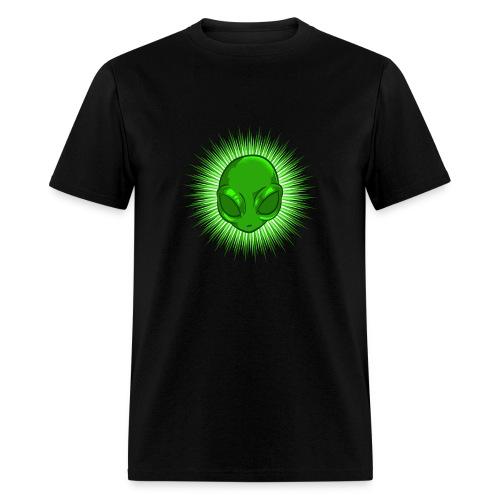 Alien In Bursting Star - Men's T-Shirt