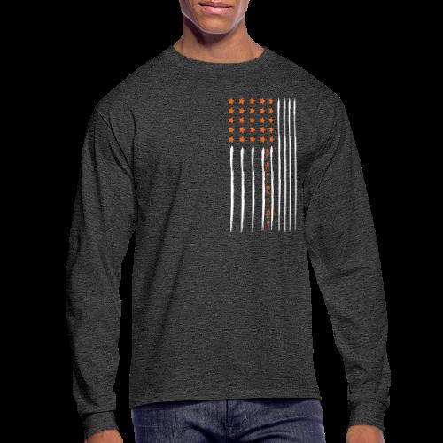 Patriot Flag - Men's Long Sleeve - Men's Long Sleeve T-Shirt
