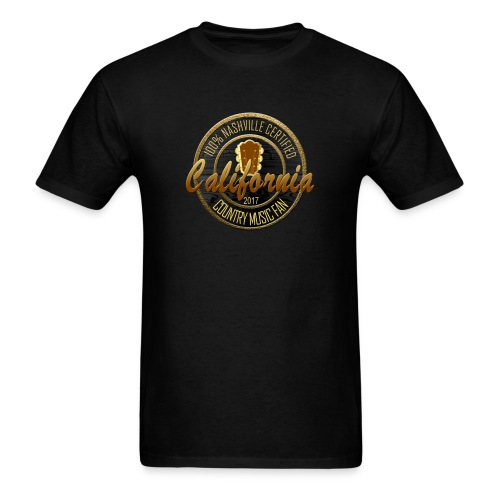 California Country Music Fan Mens T-Shirt - Men's T-Shirt