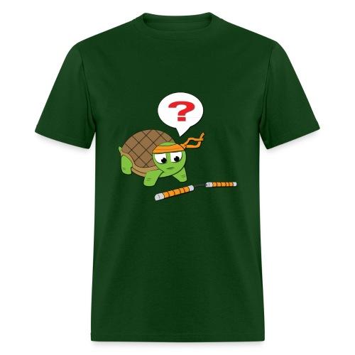 Baby Turtle Michaelangelo - Men - Men's T-Shirt