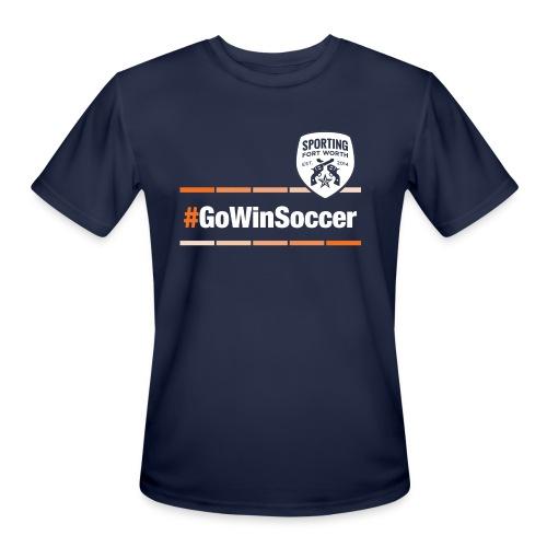 SFW GoWinSoccer Tech Shirt (navy) - Men's Moisture Wicking Performance T-Shirt