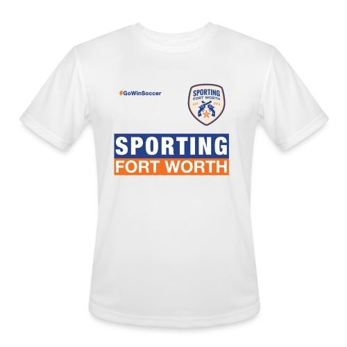 SFW Tech Shirt Trainer 2015 (white) - Men's Moisture Wicking Performance T-Shirt