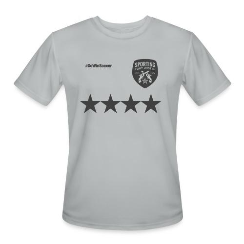 SFW All Star Tech Shirt (military gray) - Men's Moisture Wicking Performance T-Shirt