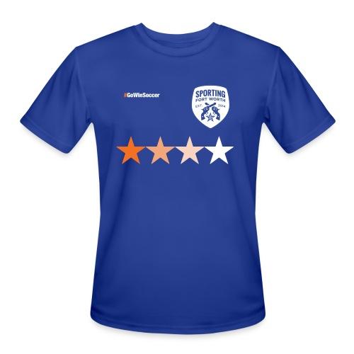 SFW All Star Tech Shirt (blue) - Men's Moisture Wicking Performance T-Shirt