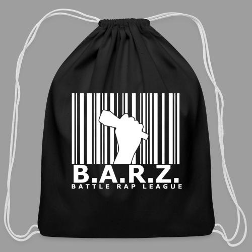 BARZ Battle Rap League Logo - Cotton Drawstring Bag