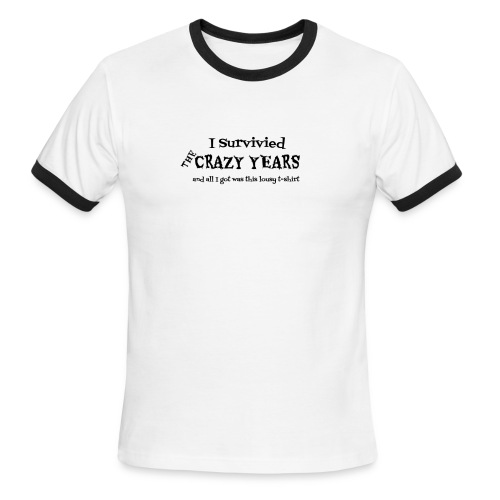 Crazy Years - Men's Ringer T-Shirt
