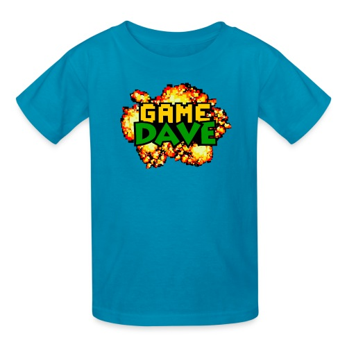 Game Dave 8-Bit Explosion (Youth) - Kids' T-Shirt